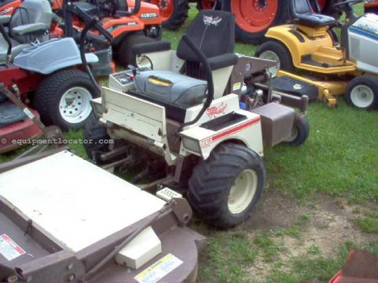 2000 Grasshopper 721D2 Zero Turn Mower For Sale at