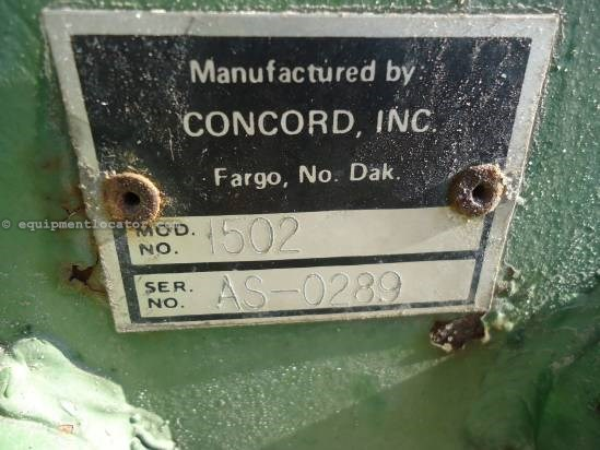 NULL Concord 1502 Air Seeder: Air Sys For Sale