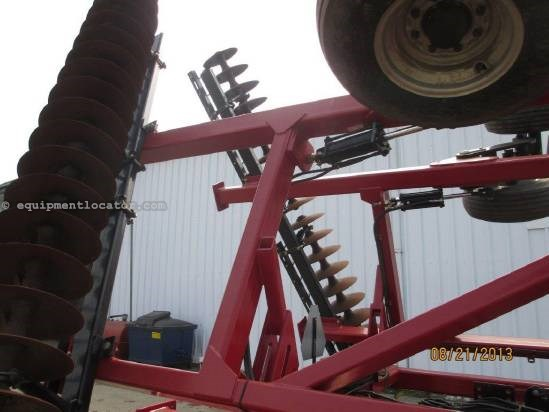 2009 Case IH RMX340, 31', Hyd Leveling, Walking Tandems Disk Harrow For Sale