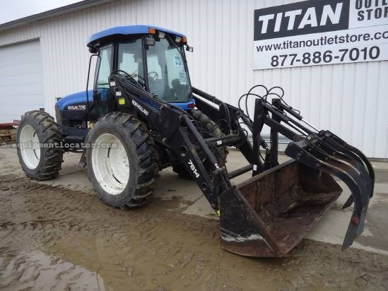 2000 New Holland TV140 Tractor For Sale
