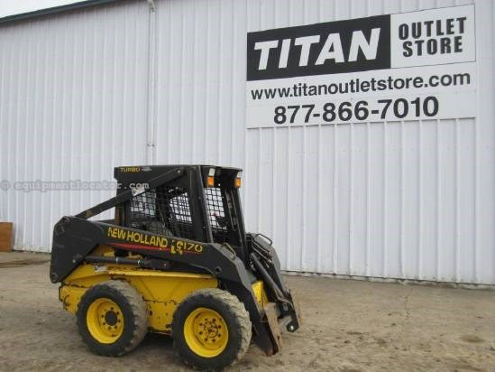 2003 New Holland LS170 Skid Steer For Sale
