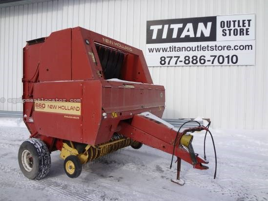 1995 New Holland 660 Baler-Round For Sale