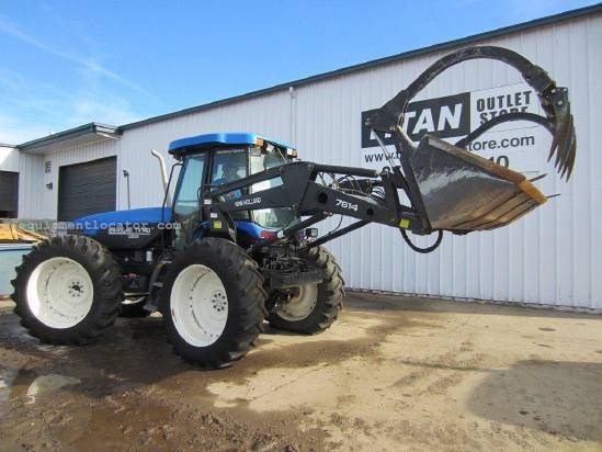 2002 New Holland TV140 Tractor For Sale