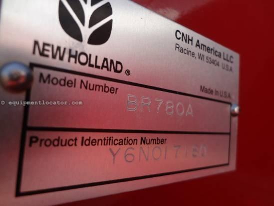 2007 New Holland BR780A - 1000 pto, Trelleborgs, Autowrap Baler For Sale