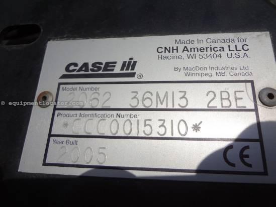2005 Case IH 2062 Header-Draper For Sale