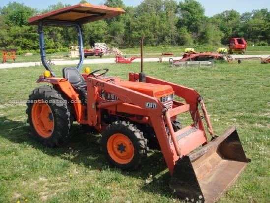 Kioti Tractor Seat : Kioti lk tractor for sale at equipmentlocator