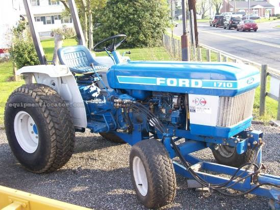 1986 Ford 1710 Tractor For Sale At Equipmentlocator Com