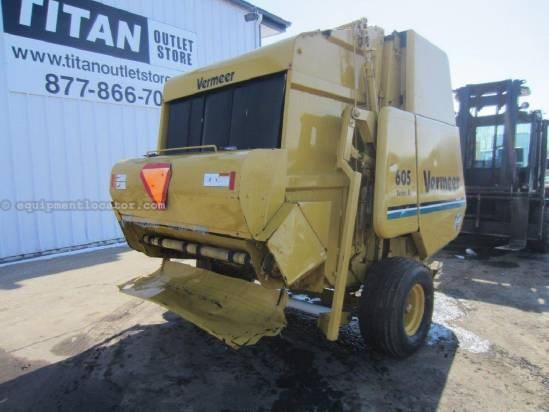 1995 Vermeer 605 Baler-Round For Sale