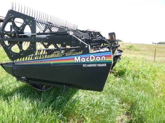 2004 MacDon 973 Header-Flex For Sale