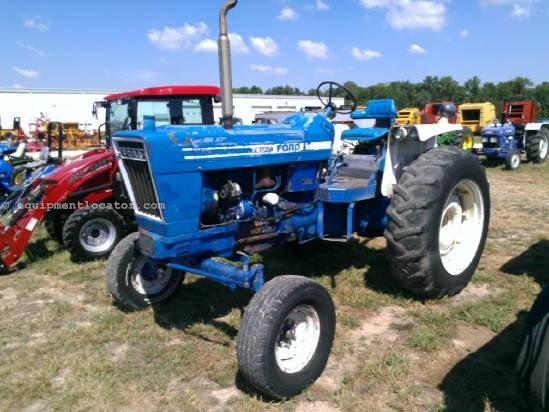 Ford 7600 tractor specifications