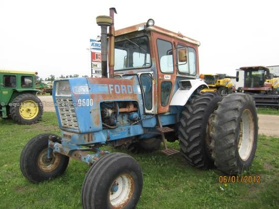 Ford 9600 Tractor : Ford tractors for sale at equipmentlocator