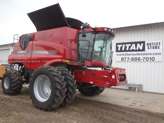 2011 Case IH AF9120, UPTIME READY!, 739 Sep, Warranty*, RT  Combine For Sale