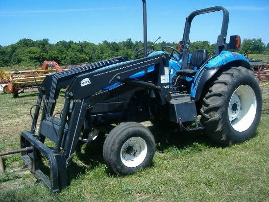 New holland Tt75 tractor Manual