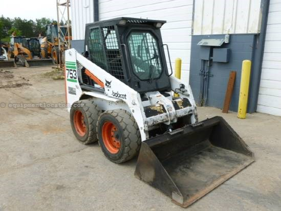 1997 Bobcat 753 Skid Steer For Sale At Equipmentlocatorcom