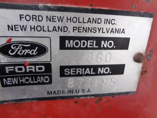 1992 New Holland 660 Baler-Round For Sale
