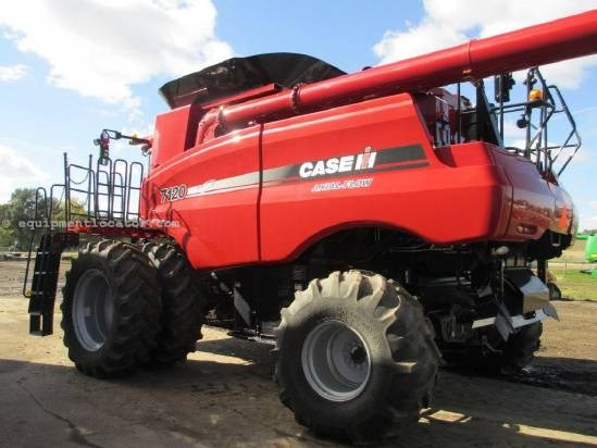 2012 Case IH 7120, 357 Sep Hr, FT, RWA, Chopper, RT, Bin Ext Combine For Sale