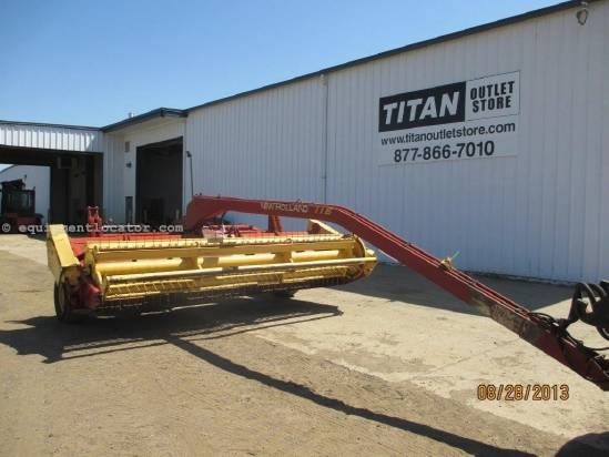 1990 New Holland 116, 14', Sickle Cut, Conditioning Rolls, Lift Cyl Mower Conditioner For Sale