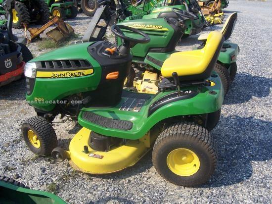 John Deere D100 Specifications : John deere d riding mower for sale at