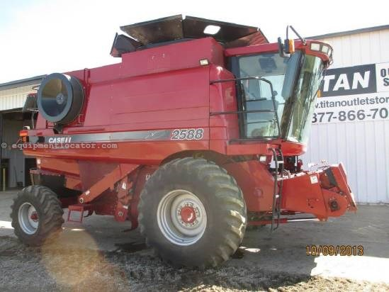 2008 Case IH 2588,1036 Sep Hr,FT,AHH,RT,HD Rear Axle, Fore/Aft Combine For Sale