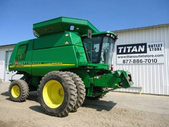 2004 John Deere 9660 Combine For Sale