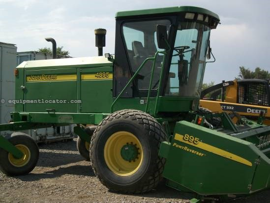 2003 John Deere 4895 Windrower-Self Propelled For Sale at