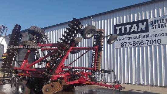 2012 Case IH 330,34', True Tandem Turbo, 34', Cushion Gang Disk Harrow For Sale