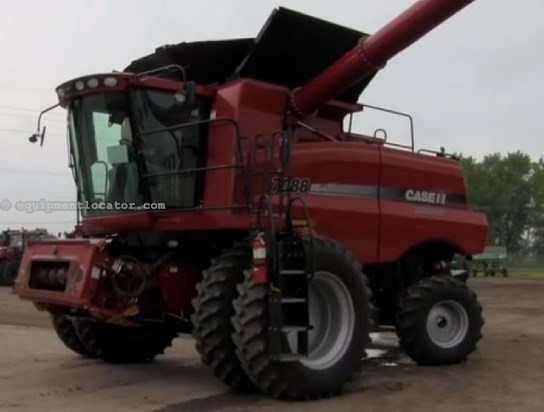 2011 Case IH AF7088-Sep Hrs 747, UPTIME READY!, Dls, Y&M, RWA Combine For Sale