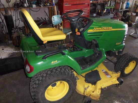 Trator Corta Relva Usado >> 2003 John Deere X585 Tractor Corta Relva Para Venda At
