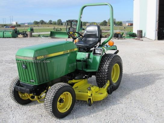 1998 John Deere 855 Tractor For Sale At