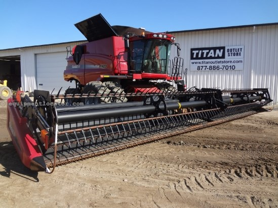 2011 Case IH 2162 - 40 ft, Transport (7010,8010,7120,8120,8230) Header-Draper For Sale