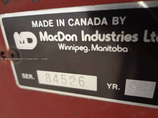 1993 MacDon 5000 Mower Conditioner For Sale