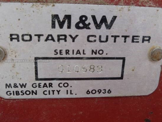 NULL M & W PC1530 Rotary Cutter For Sale