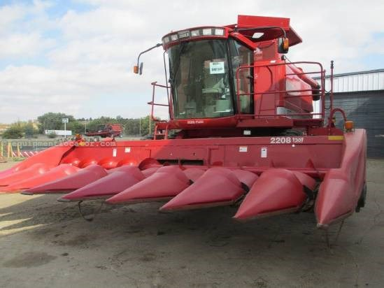 2002 Case IH 2208, 8R30, 2188/2366/2388, FT Header-Corn For Sale