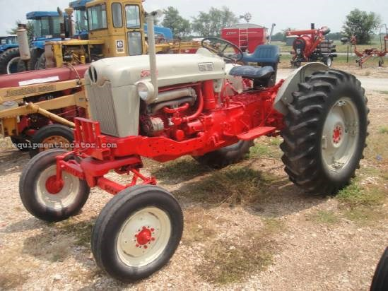 1956 Ford Tractor : Ford tractor for sale