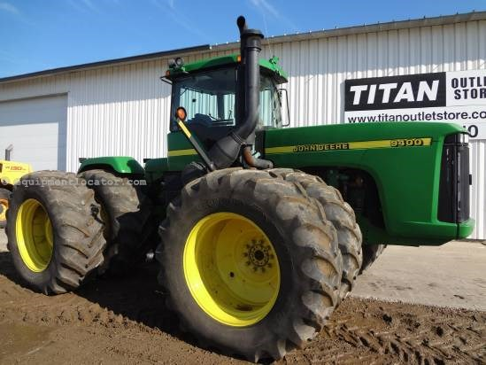 2001 John Deere 9400 - 5210 hrs, 710R42 Dls, 4 hyd, Diff Lock Tractor For Sale