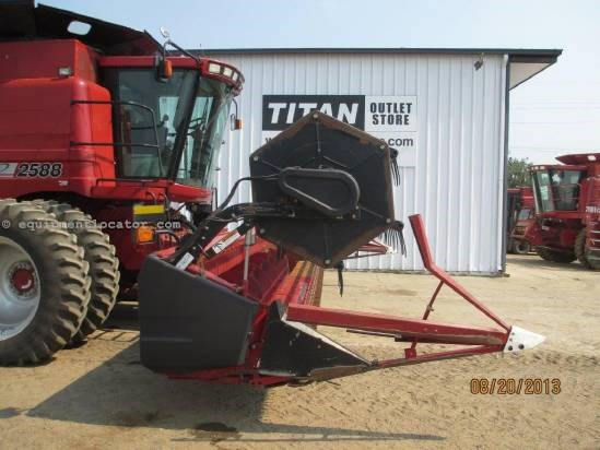2002 Case IH 1020-25', (2166/2188/2366/2388), FT, Full Finger Header-Flex For Sale