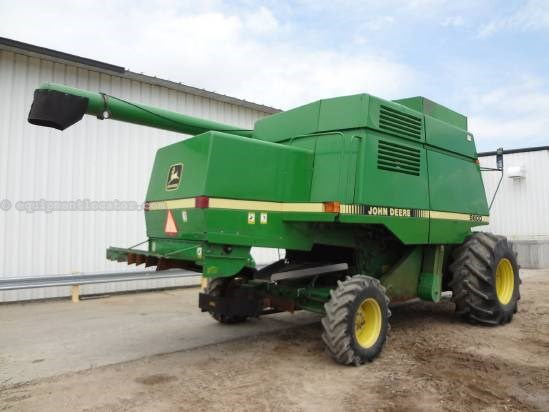 1989 John Deere 9600 Combine For Sale