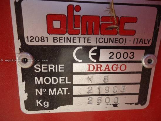 2003 Drago N8 Header-Corn For Sale
