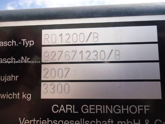 2007 Geringhoff RD1230 Header-Corn For Sale