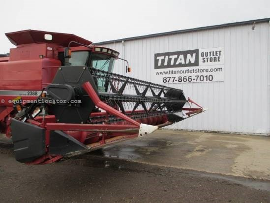 2005 Case IH 1020, 25', 2166/2188/2366/2388, HHC, Fore/Aft Header-Flex For Sale