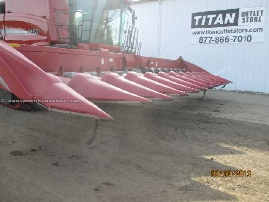 2007 Case IH 2412, 12R30, (7010/7088/8010), FT, Hyd Deck Plates Header-Corn For Sale