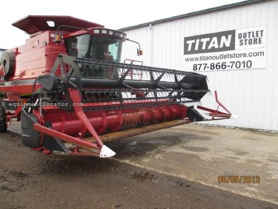 2002 Case IH 1020, 20', (1660/1680/1688/2166),Poly, HHC Header-Flex For Sale