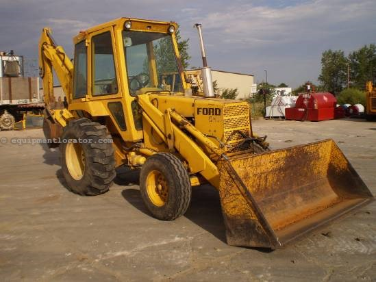1976 Ford 550 Loader Backhoe For Sale at EquipmentLocator.com