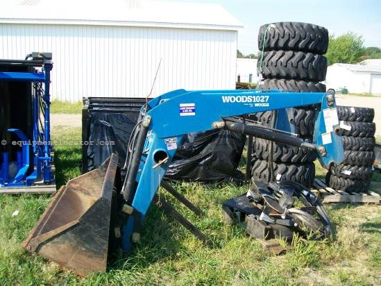 2010 Woods Equipment Company LU126 Front End Loader