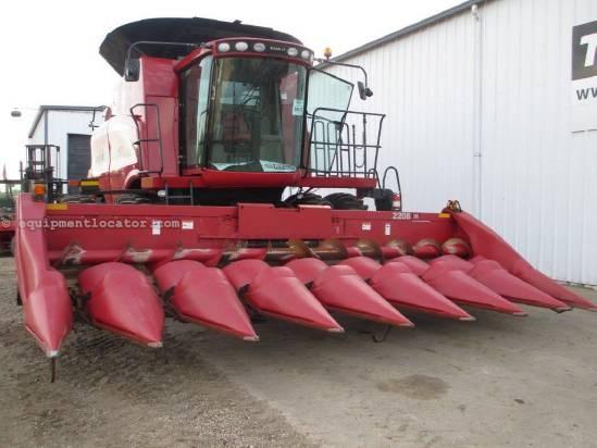 2004 Case IH 2208, 8R30, 6088/7010/7088/7120/8010, Knife Rolls Header-Corn For Sale