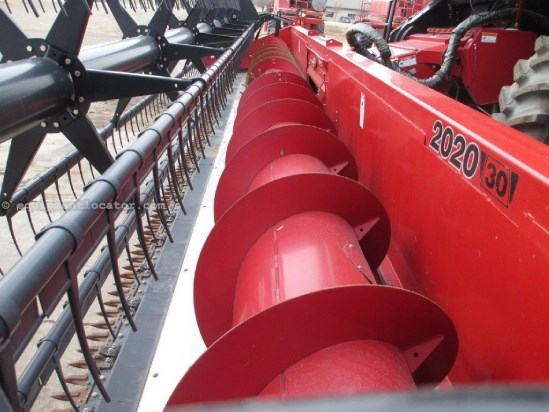 2009 Case IH 2020,30',FT,HHC,Full Finger, 6088/7088/7010/8010 Header-Flex For Sale