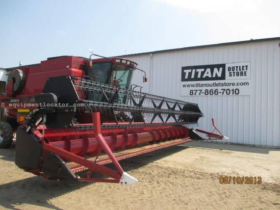 2004 Case IH 1020,30', (2188/2366/2388), FT, HHC, Fore/Aft Header-Flex For Sale
