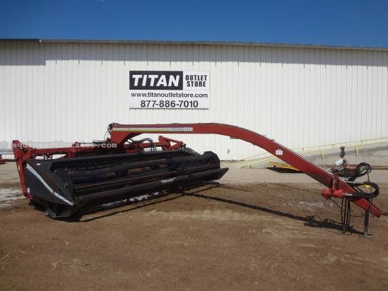 1996 MacDon 5000 - 16 ft, 540 pto, Steel Rolls Mower Conditioner For Sale