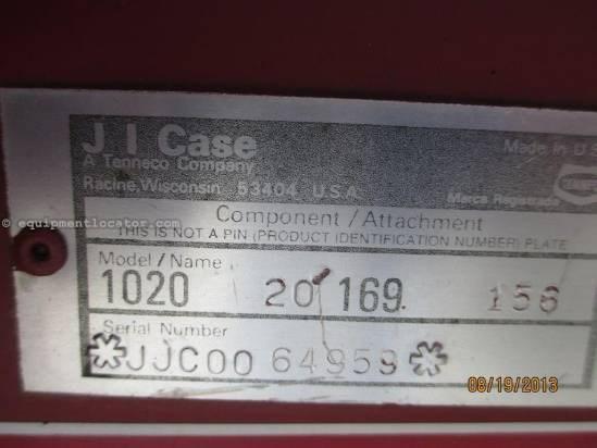 1990 Case IH 1020, 20', (1660/1666/2166), HHC, Fore/Aft Header-Flex For Sale
