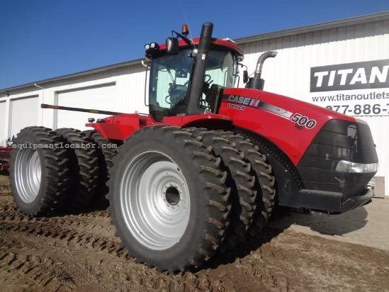 2011 Case IH Steiger STX500-713 hrs, Trpls, AutoSteer, PTO Tractor For Sale